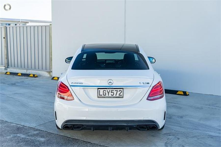 2016 Mercedes-AMG C 63 Sedan