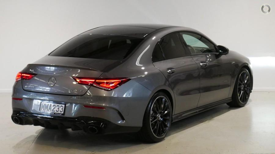 2019 Mercedes-AMG CLA 35 Coupe