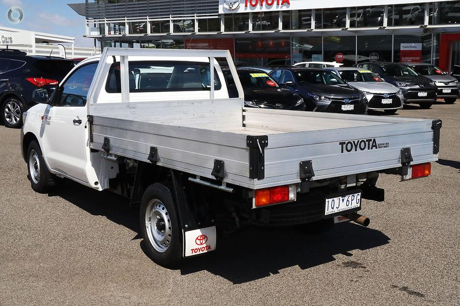 2015 Toyota Hilux Workmate TGN16R