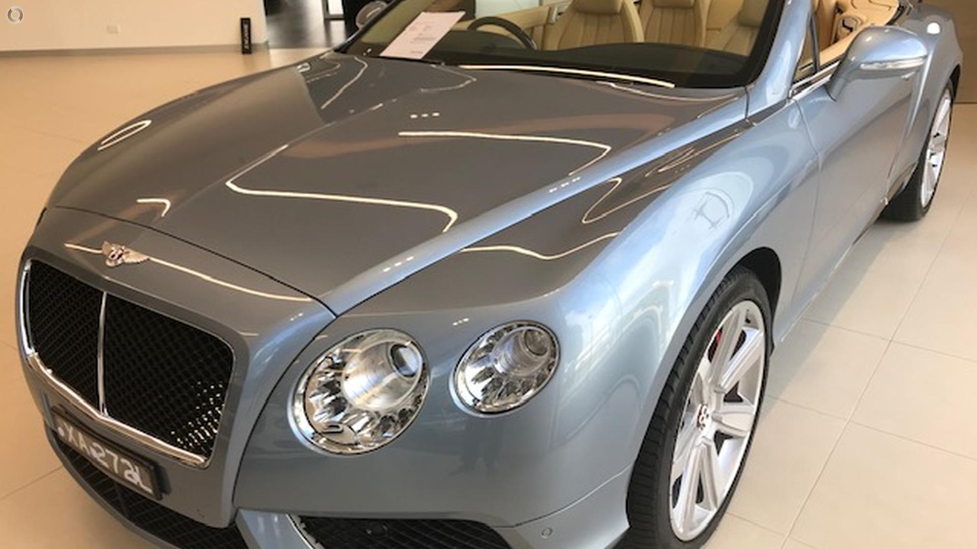 2013 Bentley Continental GTC V8 3W
