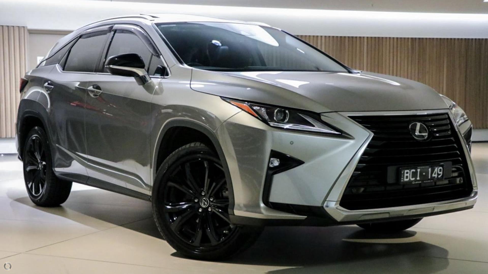 2018 Lexus Rx GGL25R