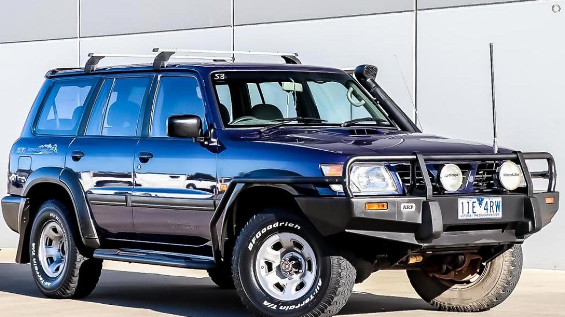 2000 Nissan Patrol ST GU