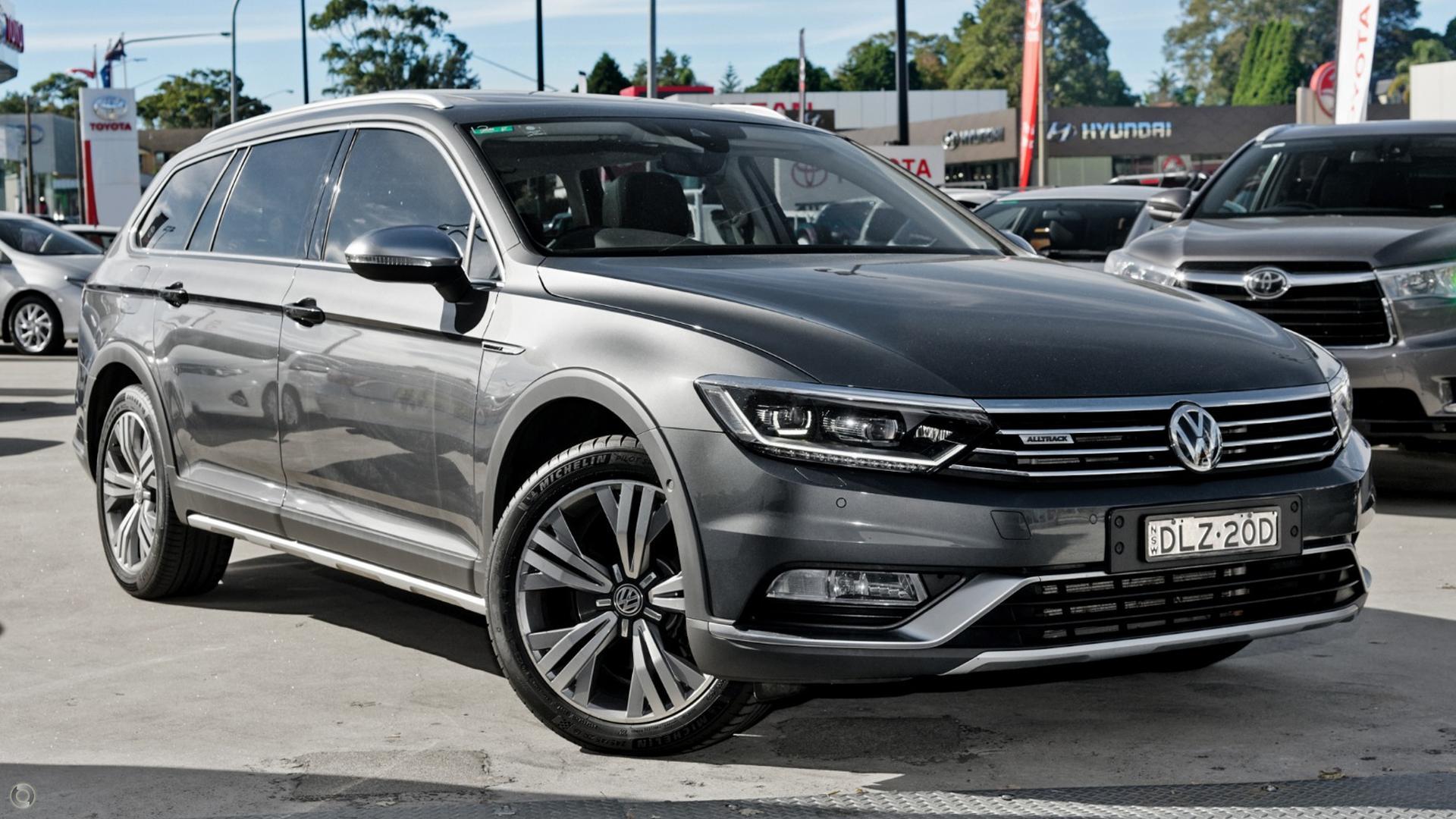 2017 Volkswagen Passat B8