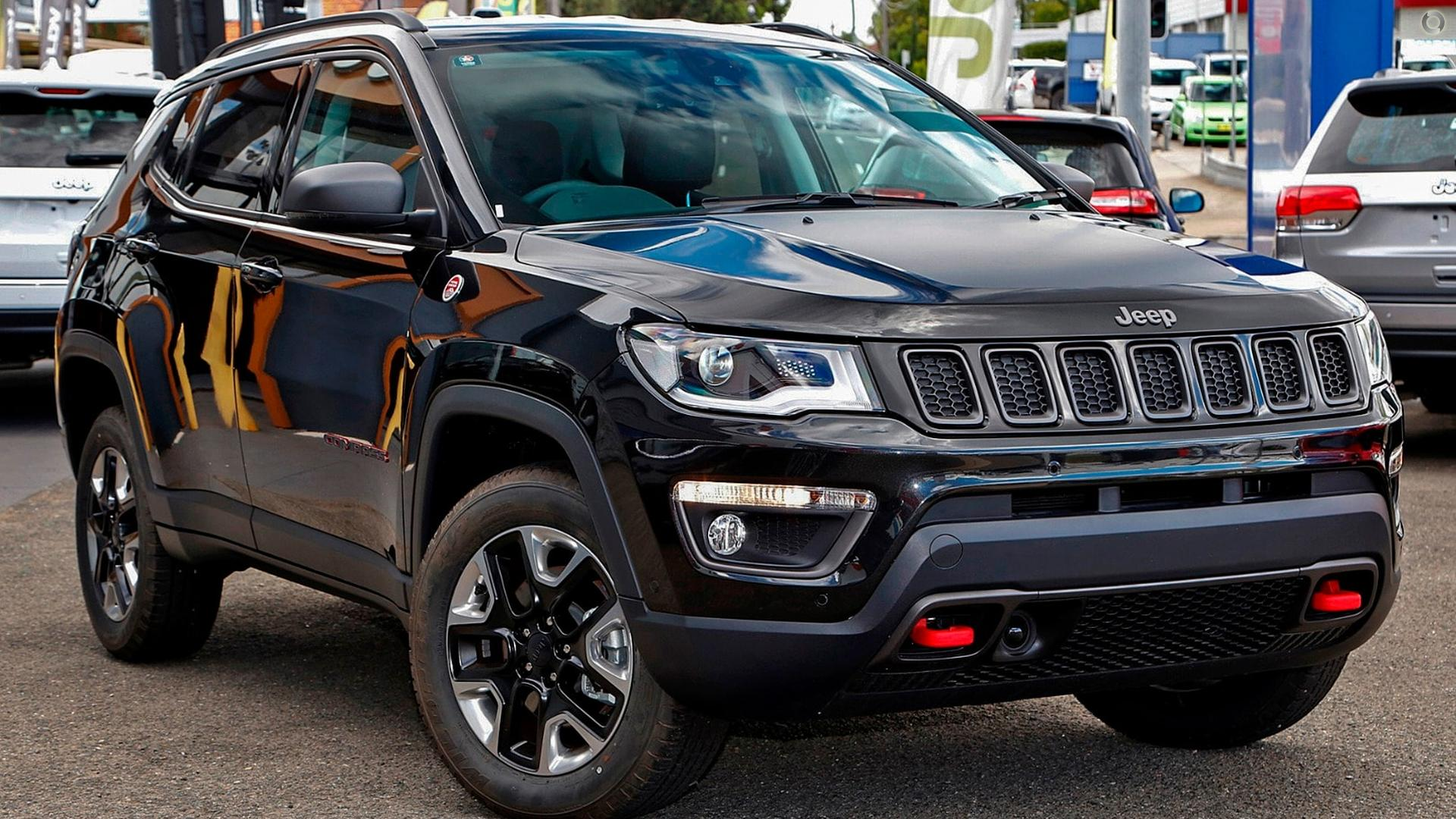 2017 Jeep Compass Trailhawk M6