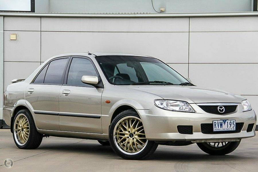 2002 Mazda 323 Protege BJ II