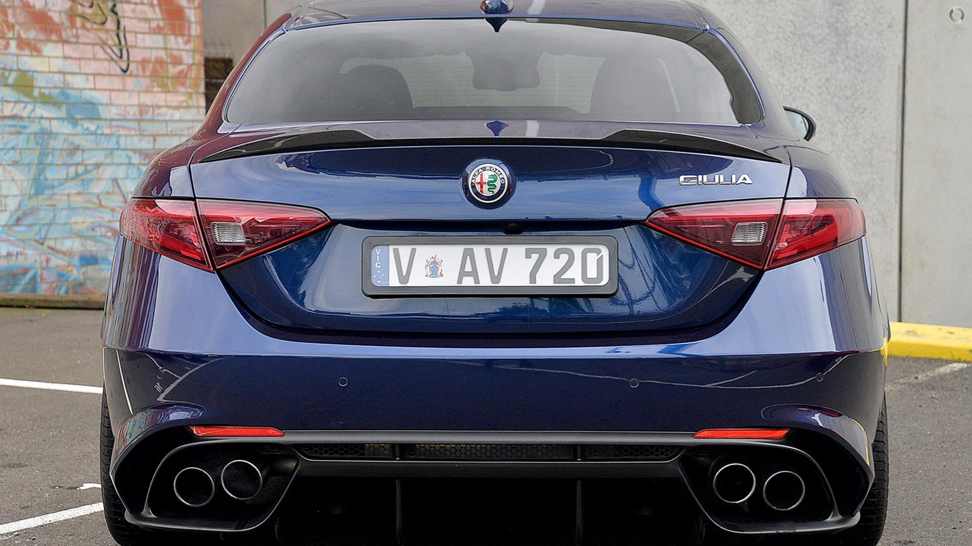2017 Alfa Romeo Giulia Quadrifoglio (No Series)