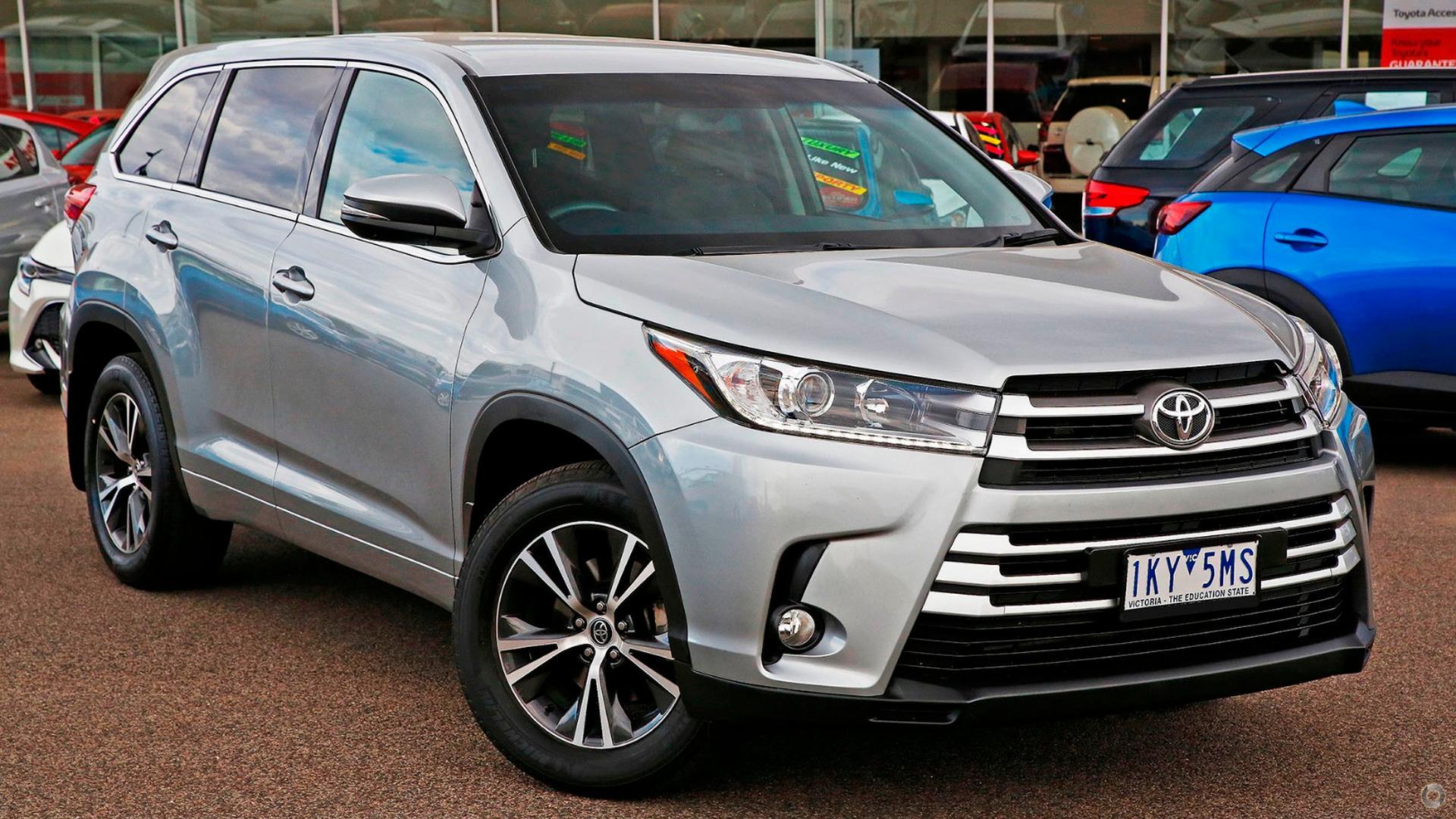 2017 Toyota Kluger GSU55R