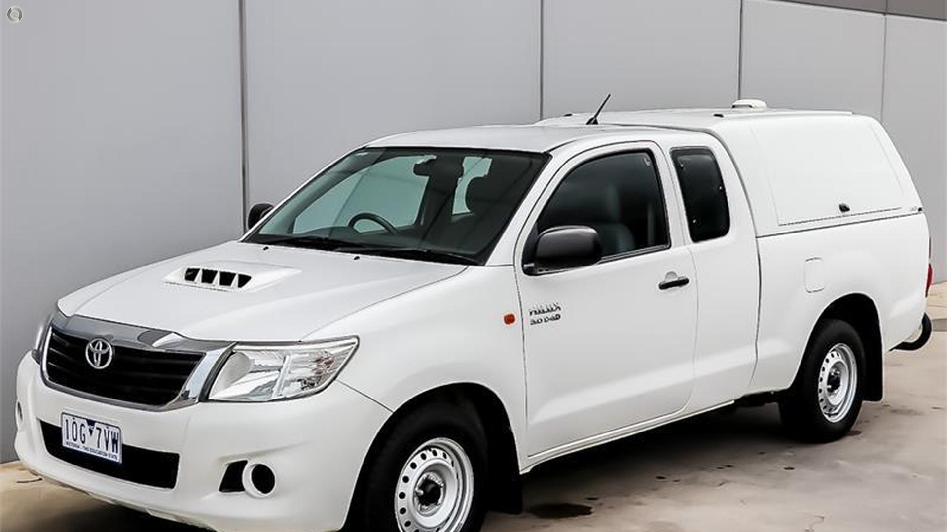 2012 Toyota Hilux KUN16R