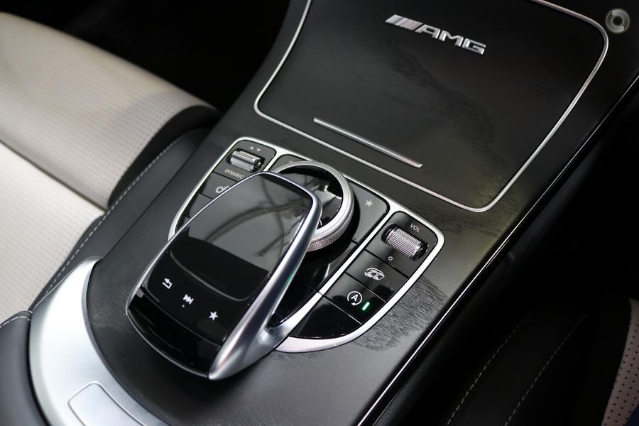 2018 Mercedes-AMG C 63 Sedan