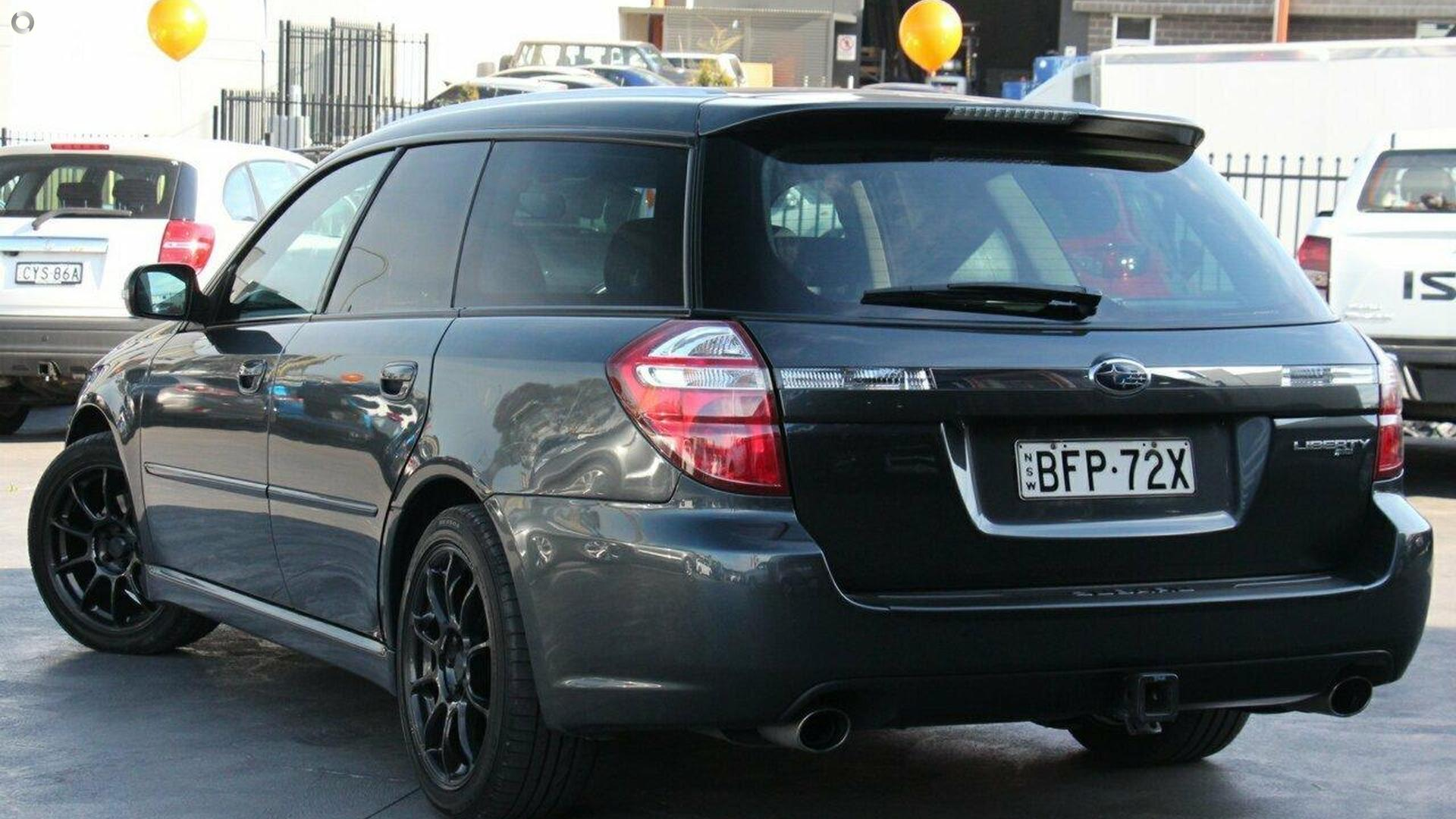 2008 Subaru Liberty Heritage 4GEN