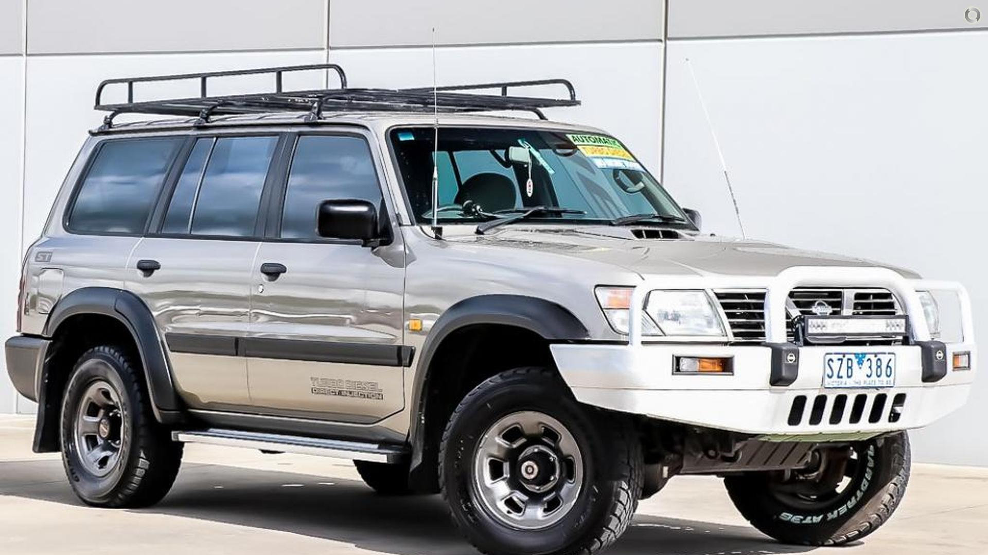 2000 Nissan Patrol GU II