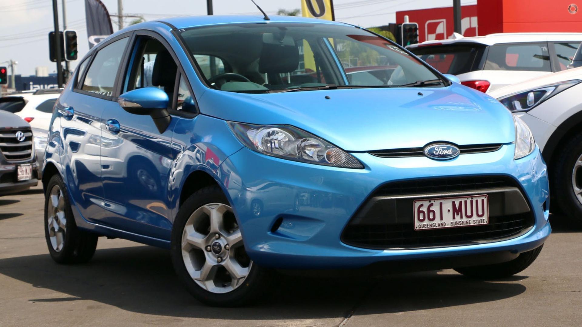 2008 Ford Fiesta WS