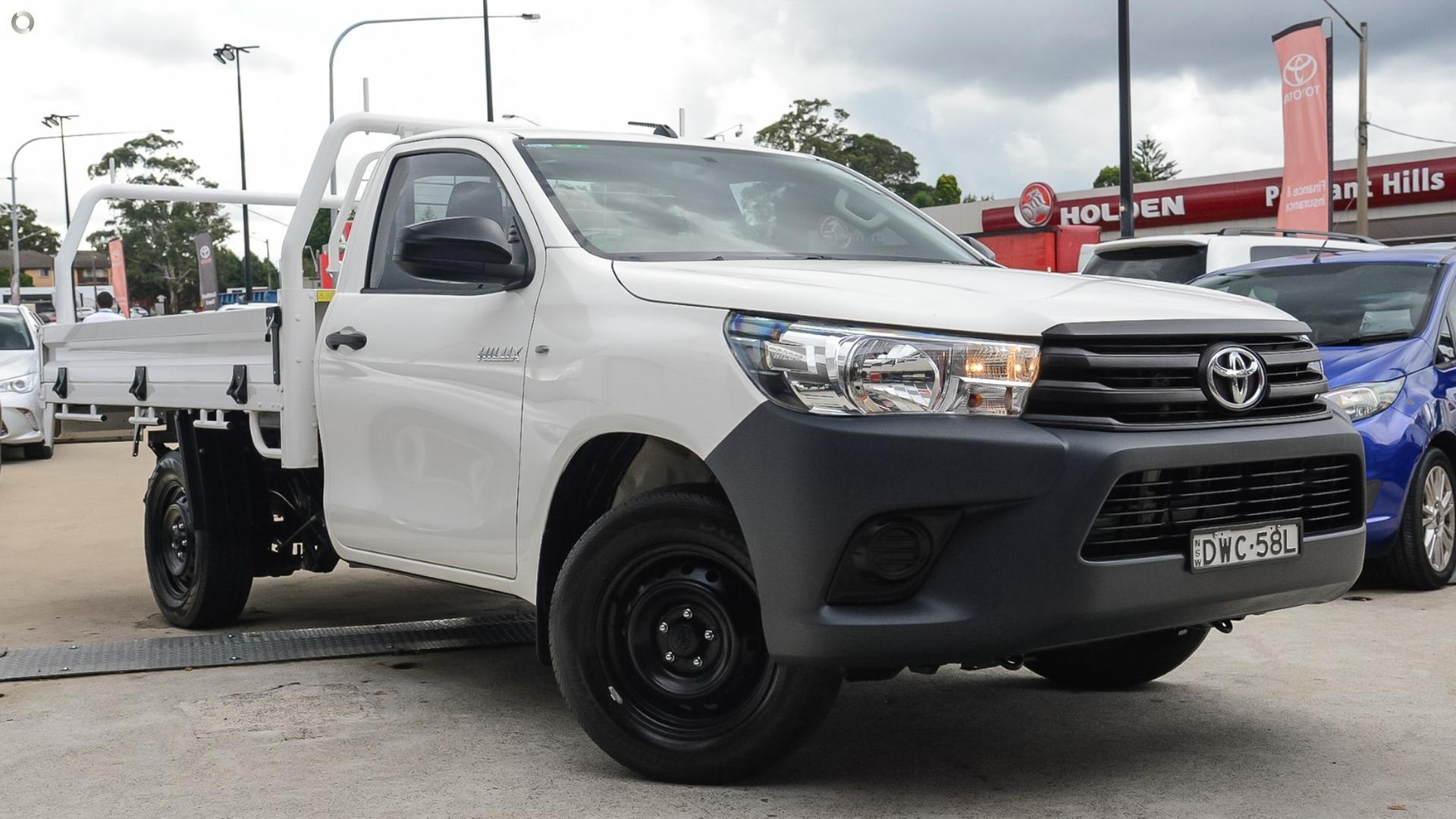 2018 Toyota Hilux TGN121R