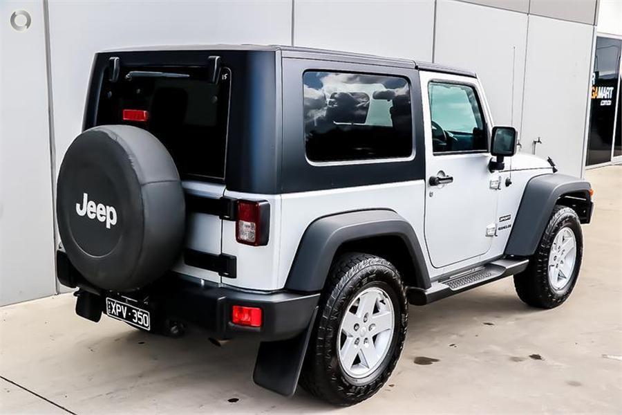 2010 Jeep Wrangler Sport JK