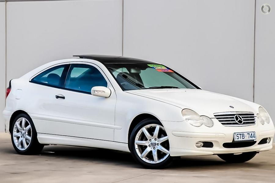 2002 Mercedes-benz C180 Kompressor Sports CL203