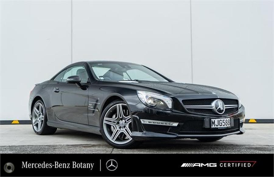 2014 Mercedes-Benz SL 63 Roadster