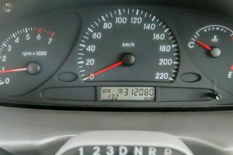 2002 Ford Falcon Ute XL BA
