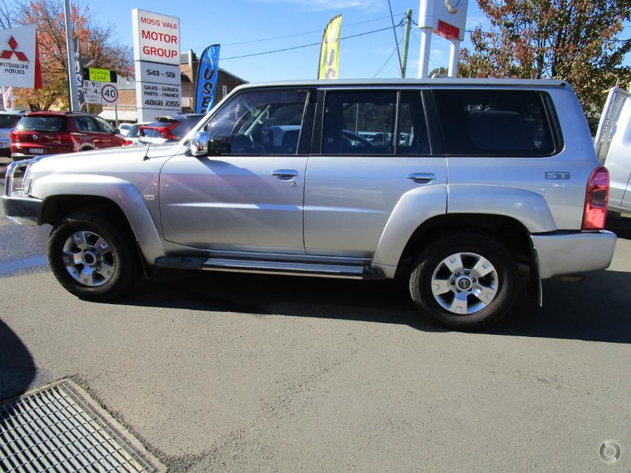 2010 Nissan Patrol ST GU 7