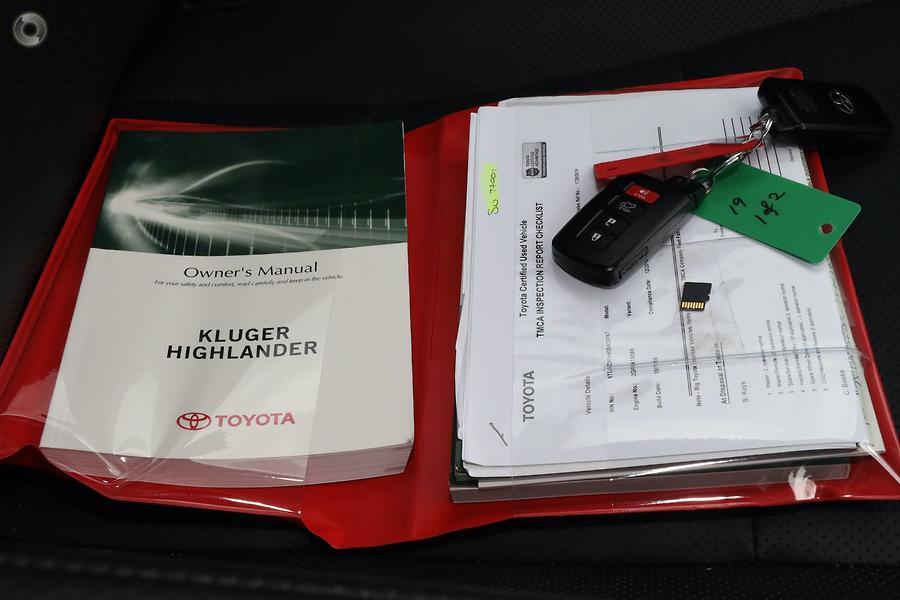 2018 Toyota Kluger GXL GSU55R