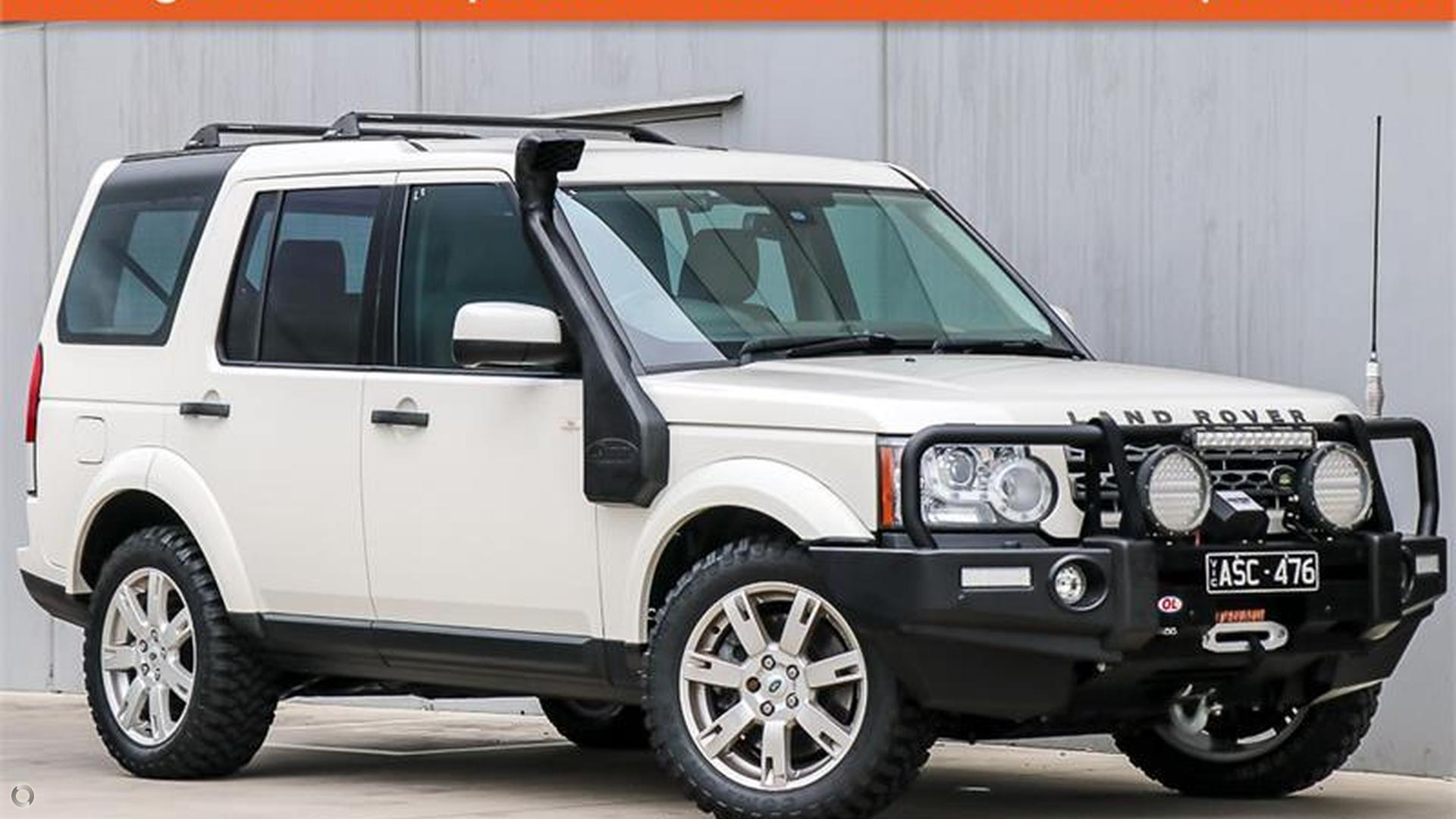 2010 Land Rover Discovery 4 Series 4