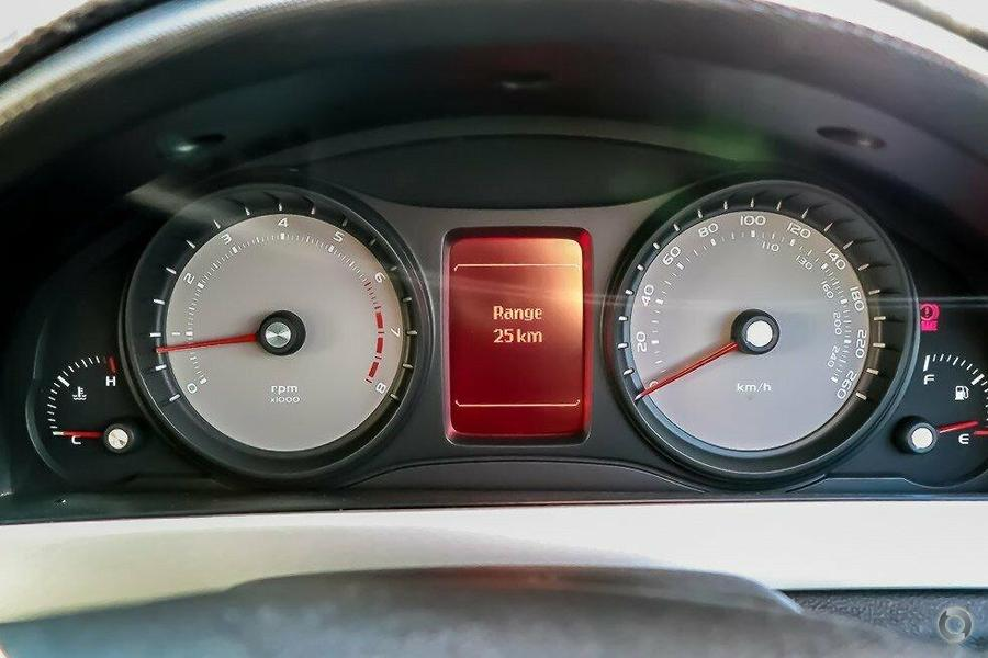 2010 Holden Ute SV6 VE