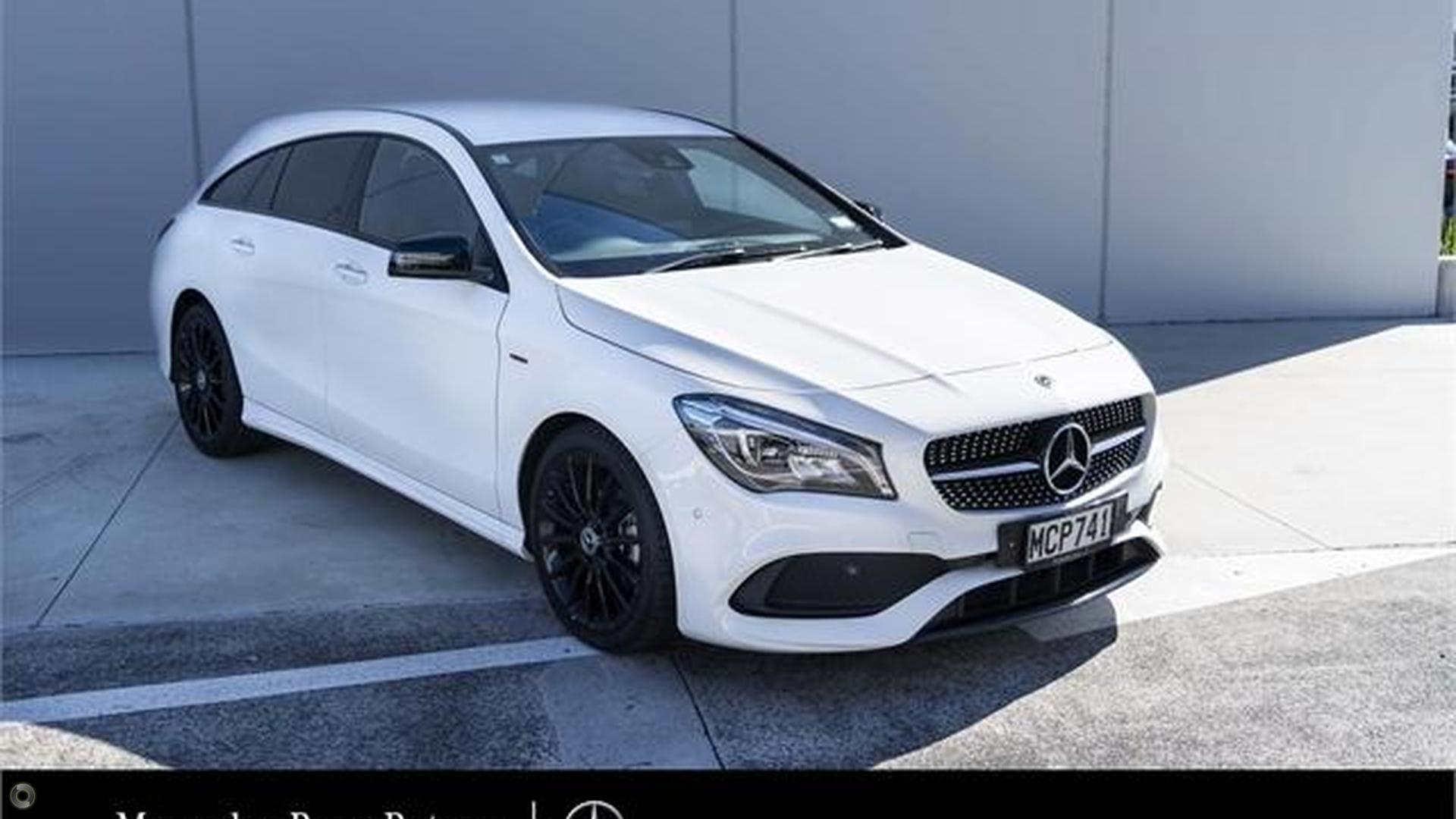 2019 Mercedes-Benz CLA 200 Shooting Brake