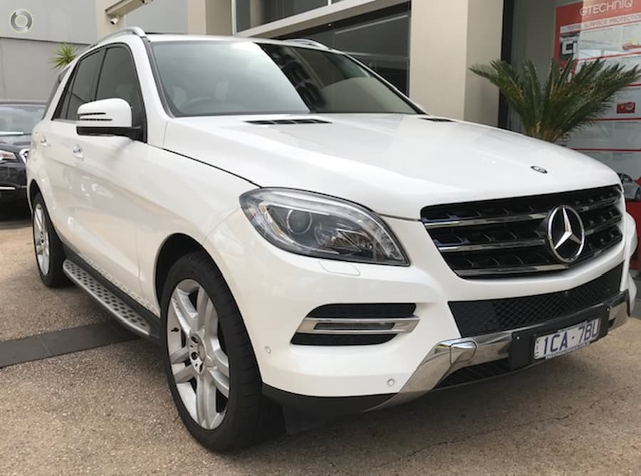2014 Mercedes-Benz ML250 BlueTEC W166