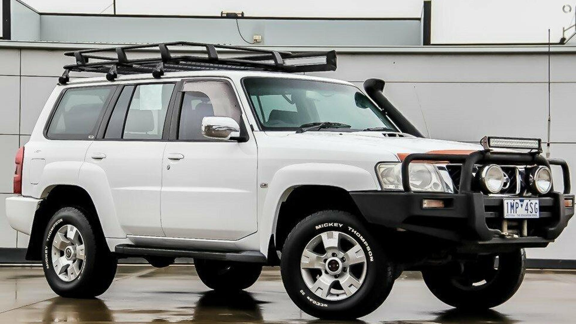 2006 Nissan Patrol GU IV