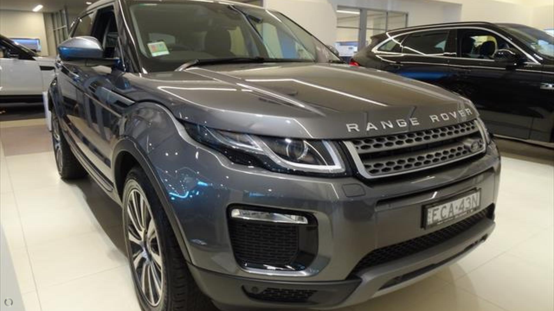 2018 Land Rover Range Rover Evoque L538