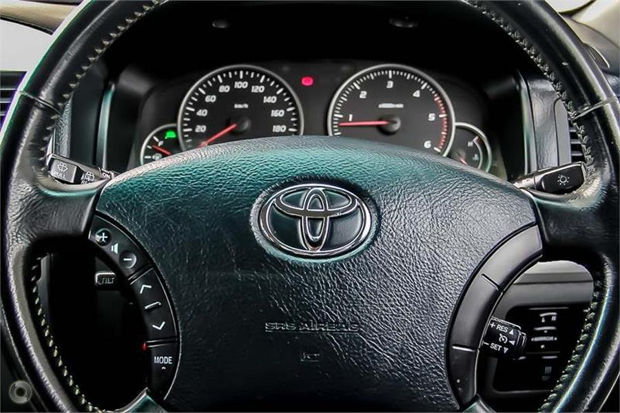2008 Toyota Landcruiser Prado GX KDJ120R