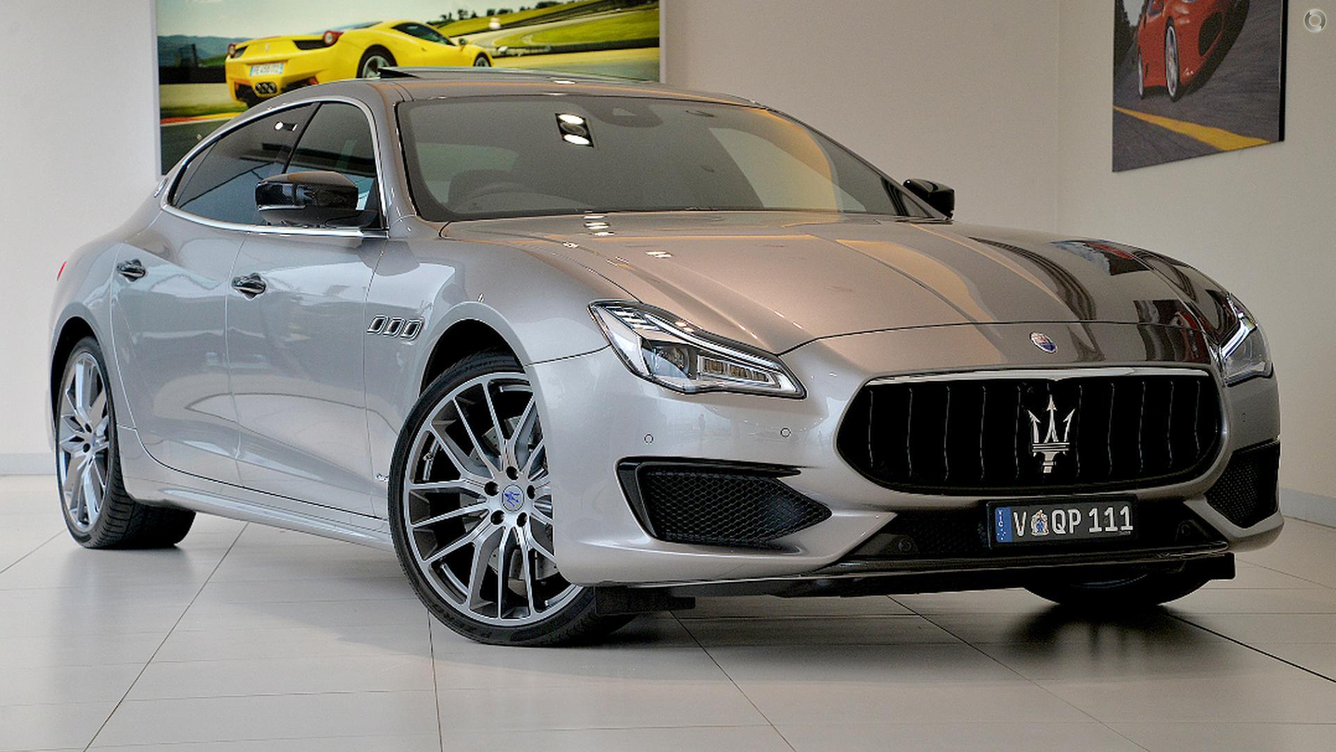2018 Maserati Quattroporte GTS GranSport M156