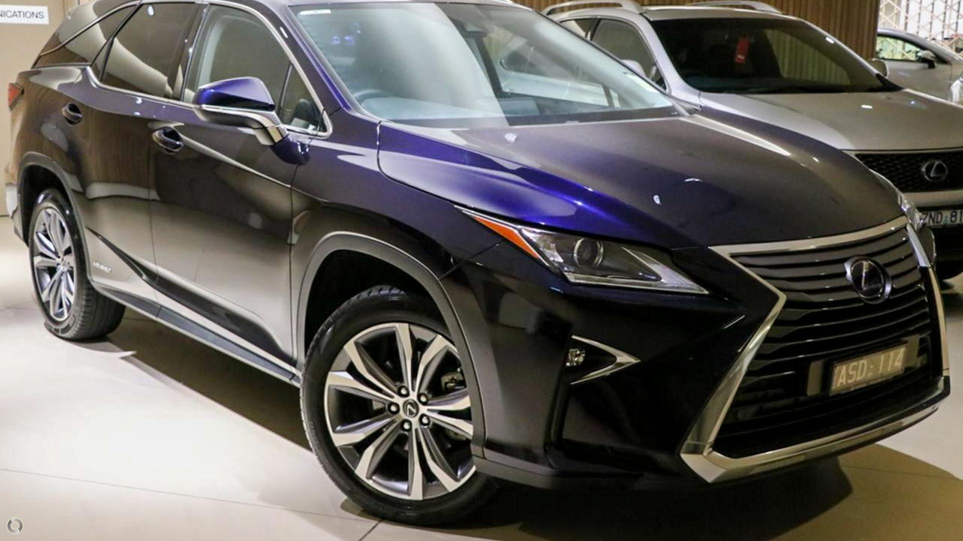 2018 Lexus Rx RX450hL Luxury GYL26R