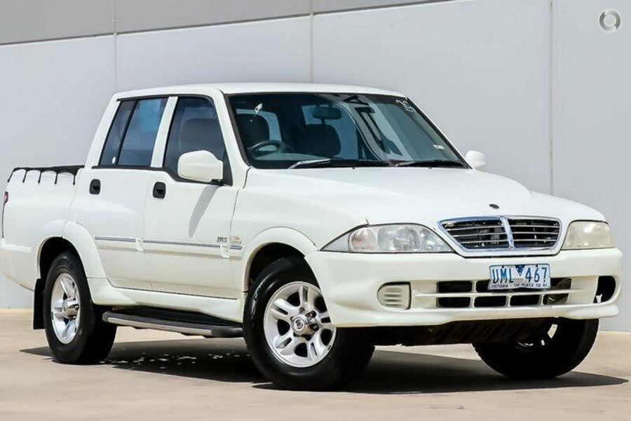 2004 Ssangyong Musso Sports (No Series)