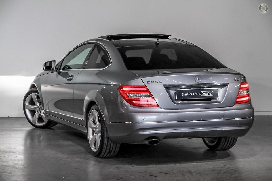2012 Mercedes-Benz C 250 Coupe