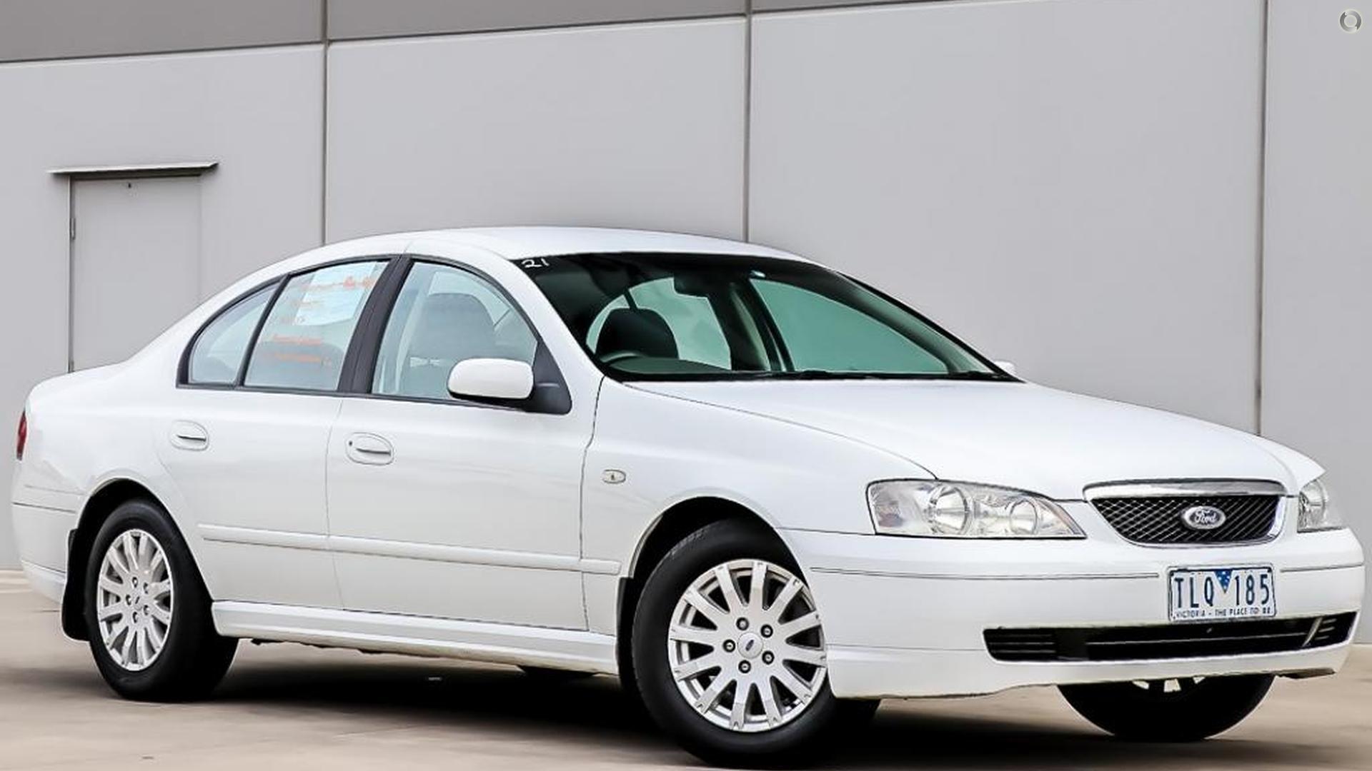 2003 Ford Fairmont BA