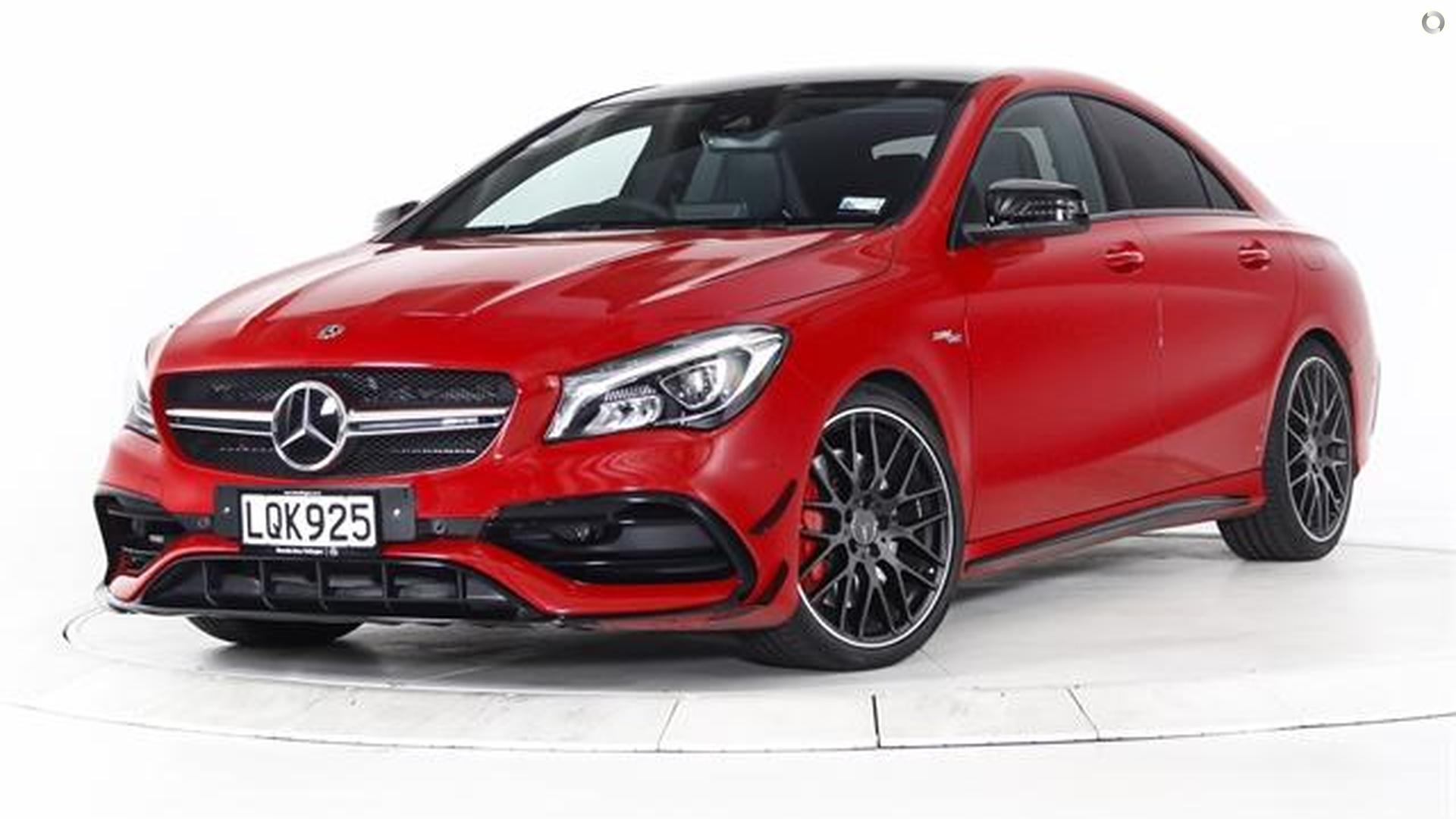 2018 Mercedes-AMG CLA 45 Coupe