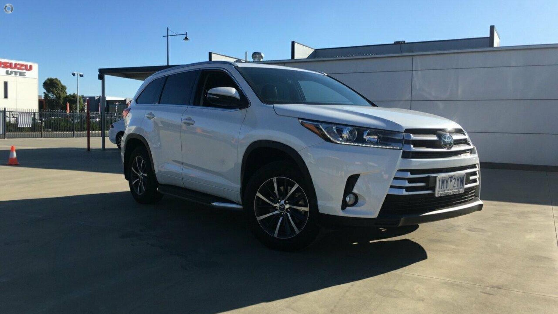 2018 Toyota Kluger GSU50R
