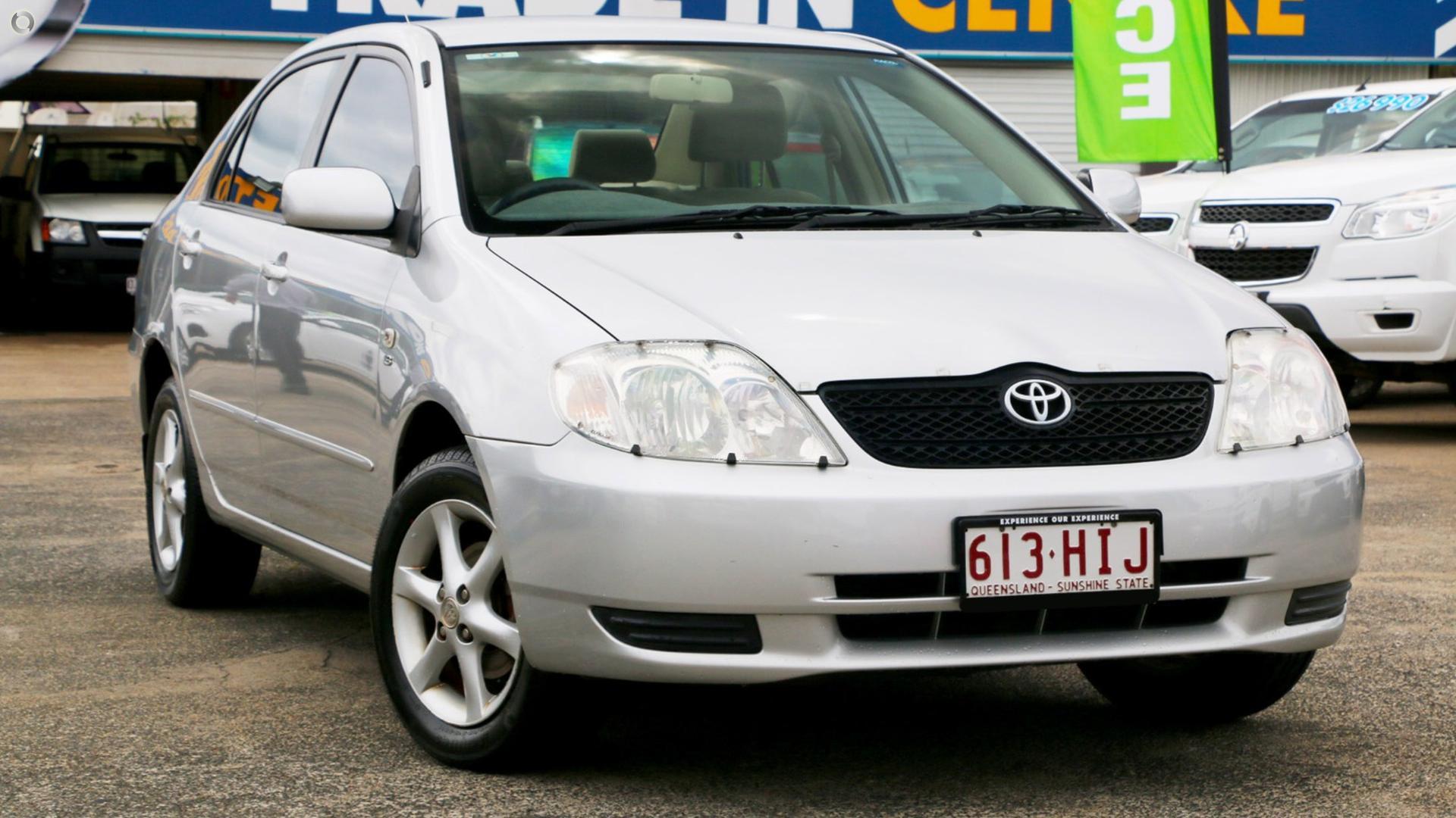 2003 Toyota Corolla Conquest ZZE122R
