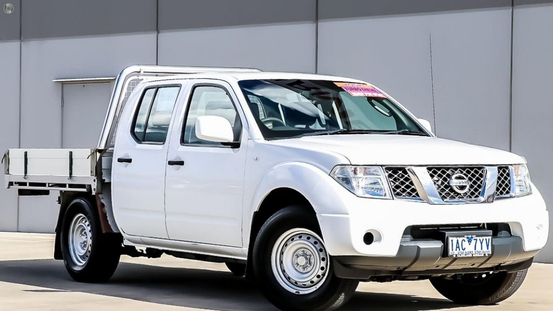 2013 Nissan Navara D40 Series 7