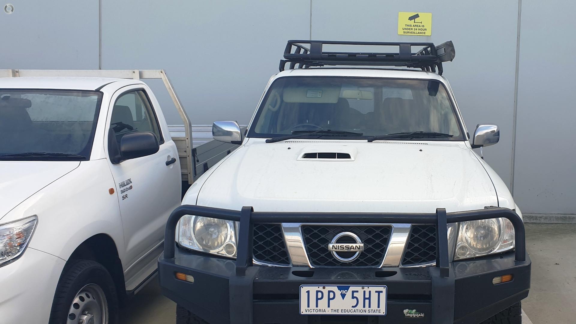 2010 Nissan Patrol GU 7