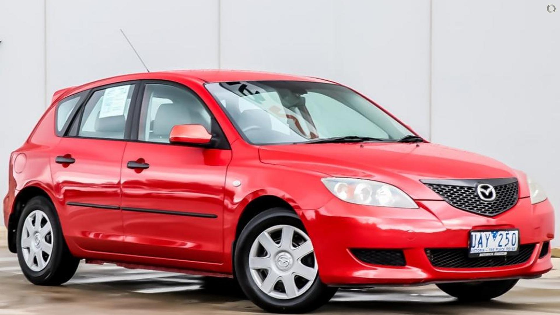 2006 Mazda 3 BK Series 1