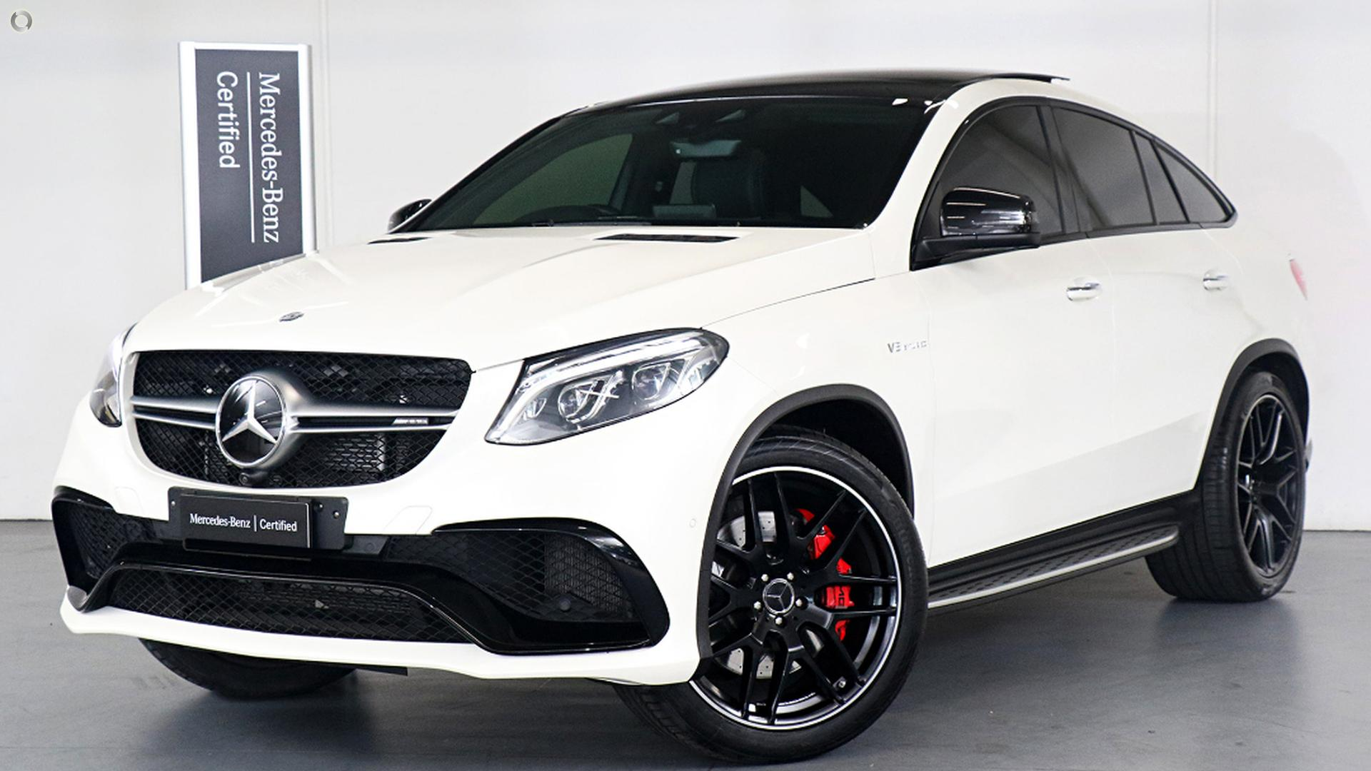 2016 Mercedes-Benz GLE 63 Coupe