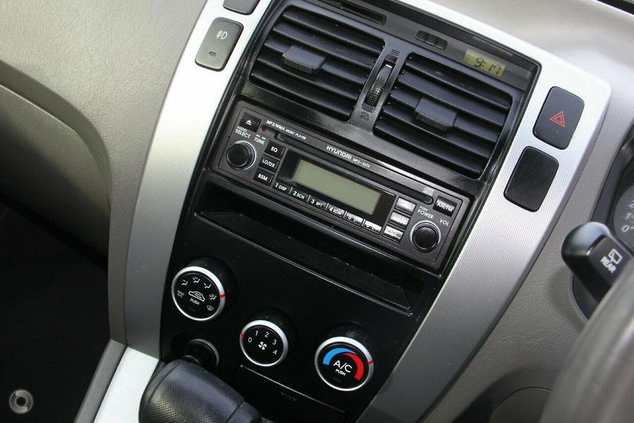2008 Hyundai Tucson City SX JM