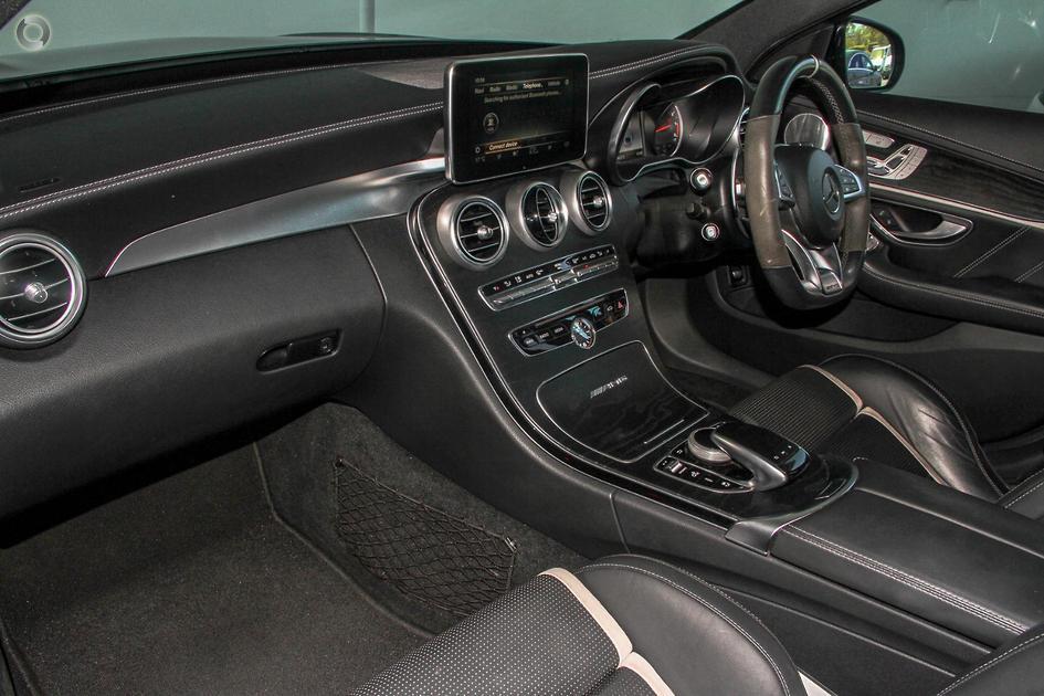 2017 Mercedes-Benz C 63 AMG S Sedan