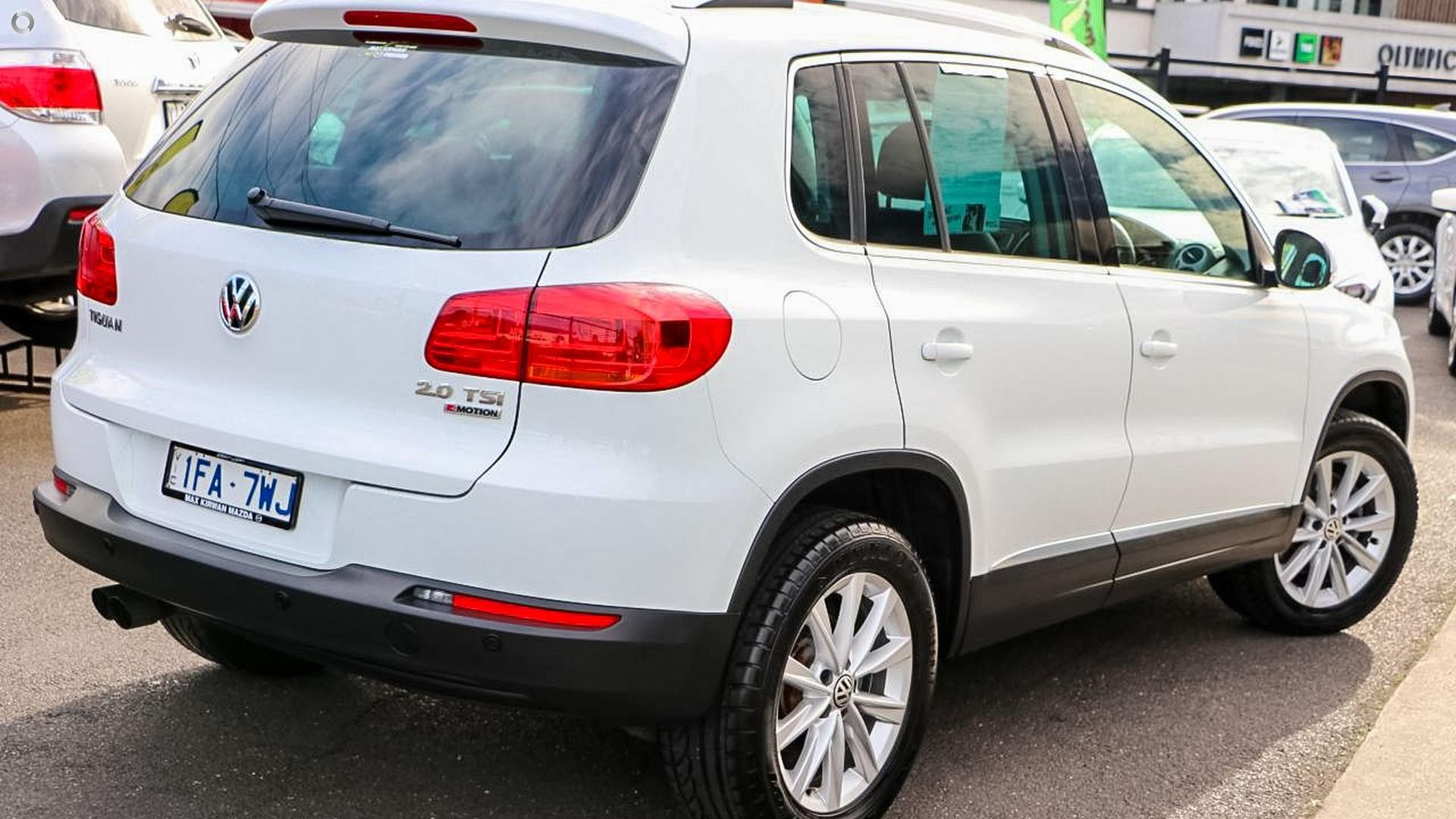 2015 Volkswagen Tiguan 132TSI 5N
