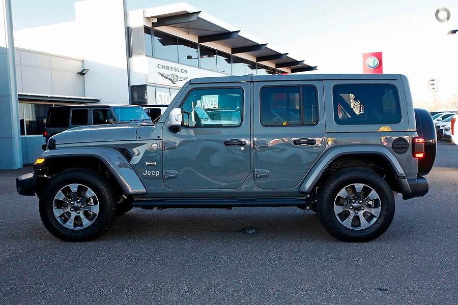 2019 Jeep Wrangler Unlimited Overland JL