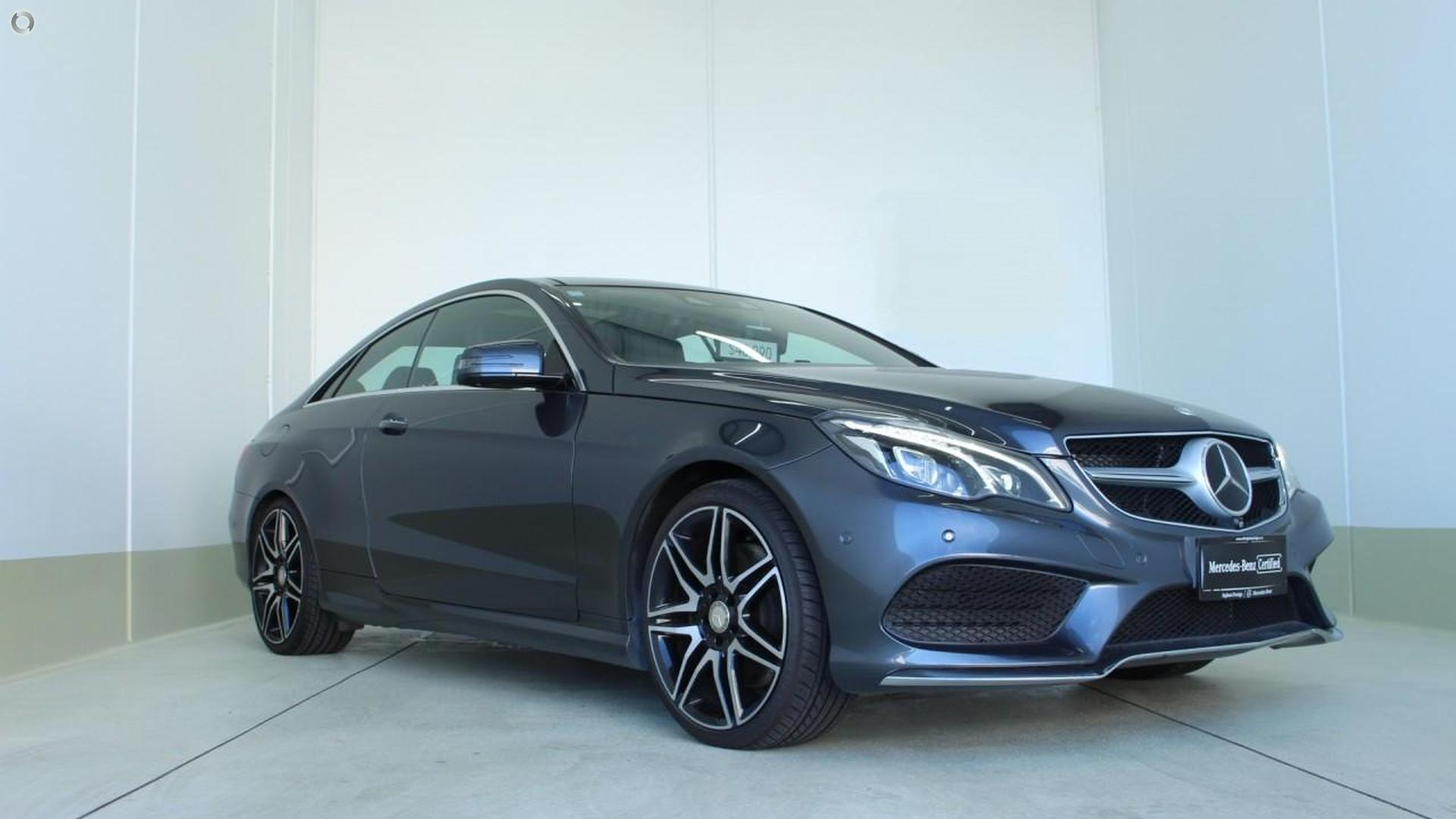 2014 Mercedes-Benz E 400 Coupe