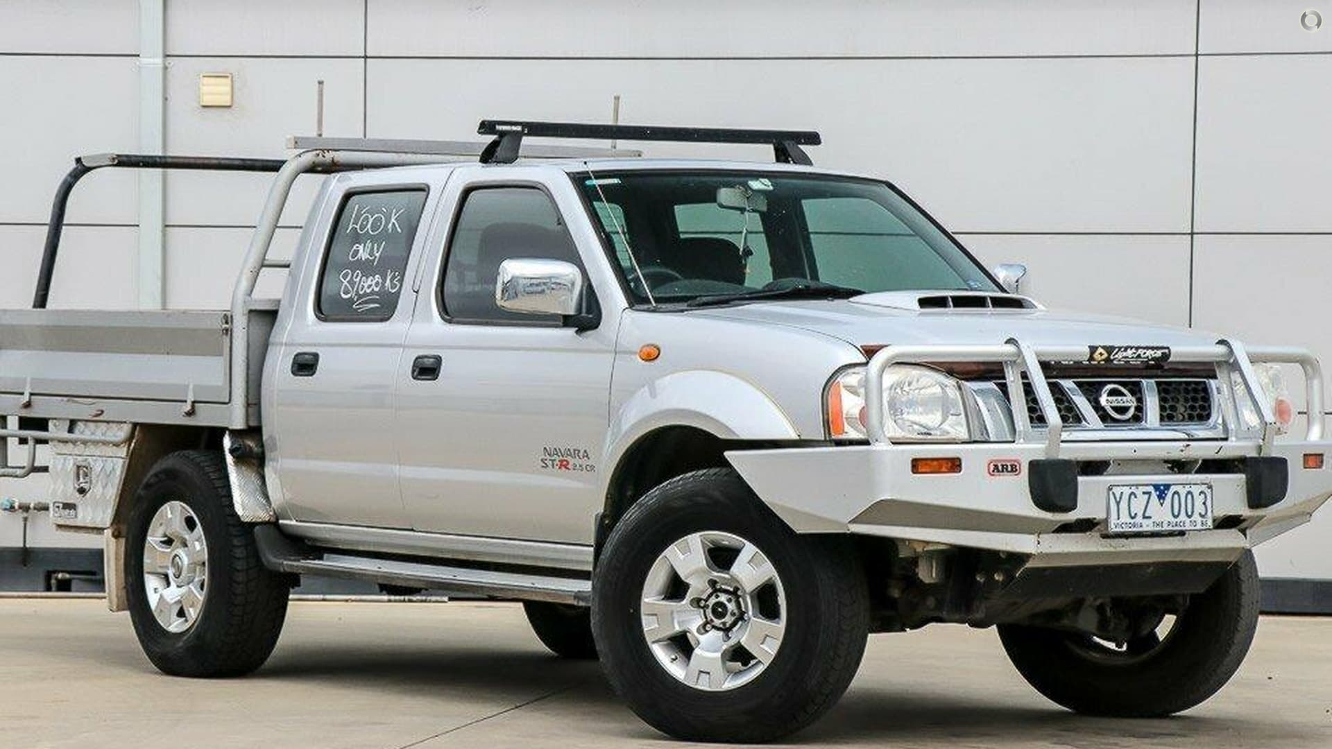 2010 Nissan Navara ST-R D22