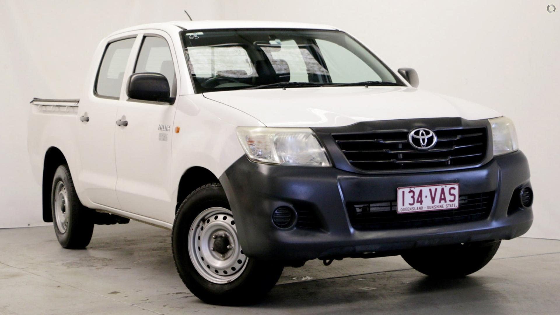 2011 Toyota Hilux Workmate TGN16R