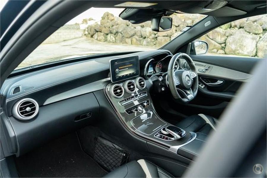2017 Mercedes-AMG C 63 Sedan